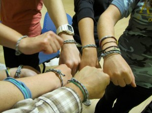 Eco-Stewards bracelet power!