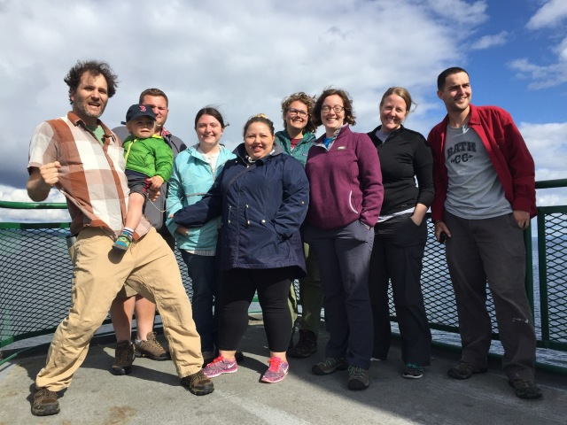 The 2016 Seattle Eco-Stewards team.